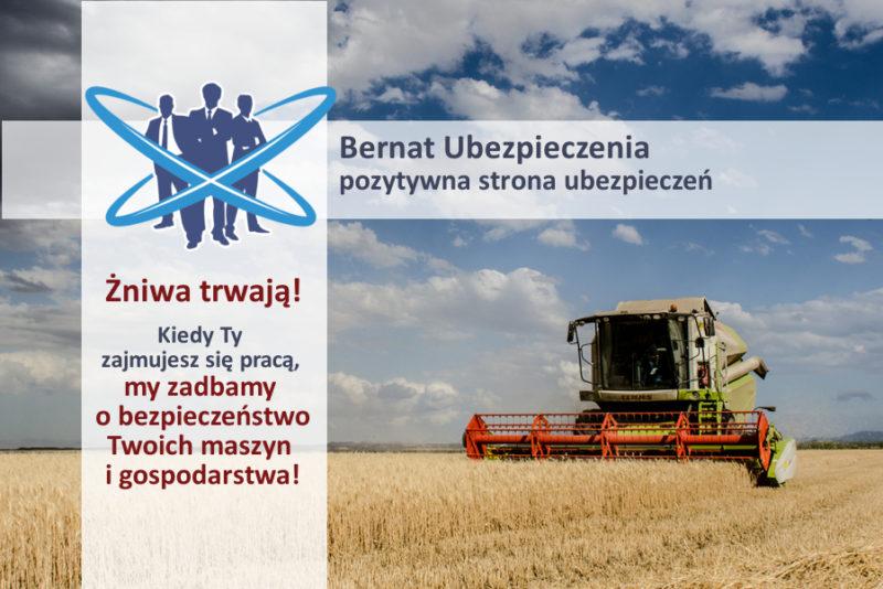 ubezpieczenie sprzętu rolniczego żniwa agrocasco